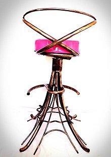 Nábytok - Barová stolička Eiffelova veža - 9362026_