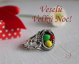 Prstene - Veľkonočné vajíčka - 9361288_