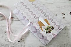 Papiernictvo - Scrapbook obálka na peniaze - fialová - 9364623_