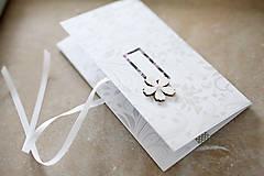 Papiernictvo - Scrapbook elegantná obálka na peniaze - 9364665_