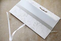 Papiernictvo - Scrapbook elegantná obálka na peniaze - 9364666_