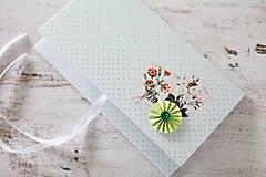 Papiernictvo - Scrapbook obálka na peniaze - jarná - 9364694_