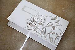 Papiernictvo - Scrapbook obálka na peniaze - ornament - 9364702_