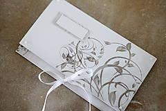 Papiernictvo - Scrapbook obálka na peniaze - ornament - 9364705_