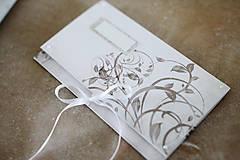 Papiernictvo - Scrapbook obálka na peniaze - ornament - 9364706_