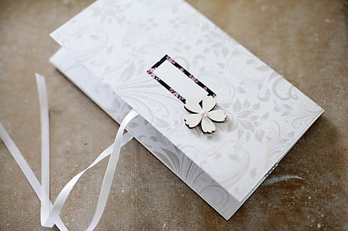 Scrapbook elegantná obálka na peniaze