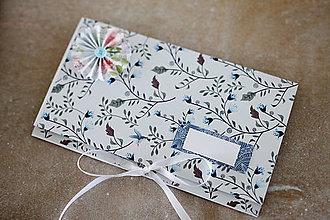 Papiernictvo - Scrapbook obálka na peniaze - 9364592_