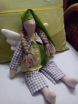 Bábiky - anjelik spinkáčik - 9365606_