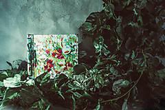 Fotoalbum klasický, polyetylénový obal s potlačou ,,Abstraktný kvetinový miš-maš,,