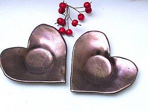 Nádoby - tanierik srdce - 9364652_