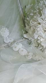 Vintage svadobny doplnok do vlasov -