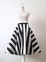 Sukne - Kruhová sukňa saténová - 9368576_