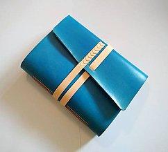 """Papiernictvo - Kožený zápisník ,,Leahna"""" A5 - 9366870_"""