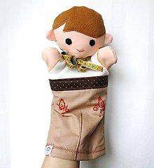 Hračky - Maňuška folk chlapec - Igor - 9366272_