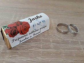 Papier - Menovky na svadbu čokoládky - 9367465_
