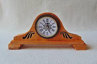 Hodiny - Drevené hodiny Hodinôčky - 9366359_
