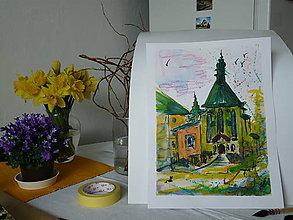 Obrazy - kostol sv. Kataríny, BŠ - 9367148_