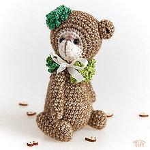 """Hračky - medvedík """"Sarah"""" - 9368751_"""