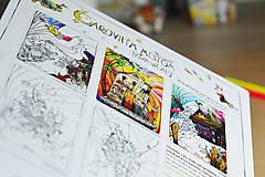 Grafika - Kniha omaľovánok