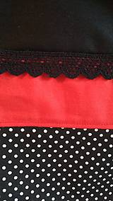 Nákupné tašky - Nákupná taška  čierna- bodky - 9368089_