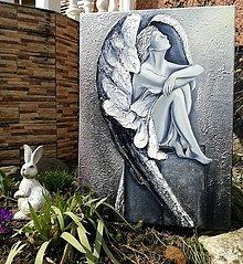 Obrazy - ,,Anjelský pokoj,, - 9367580_