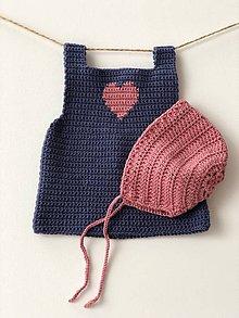 Detské oblečenie - Šaty Pinafore / Pinafore dress - 9367635_