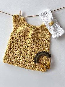 Detské oblečenie - Šaty Easy / Easy Dress - 9367688_