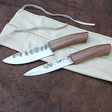 Nože - Kuchynské nože, sada z recyklovanej ocele - 9368876_