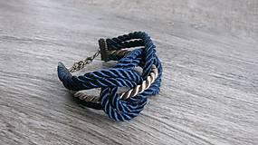 Uzlový náramok (modrý č. 1965)