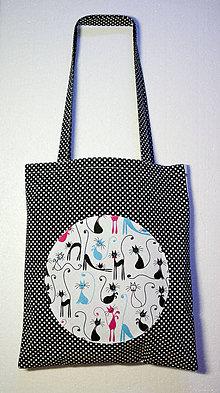 Nákupné tašky - Mačiacia prehliadka - 9368583_
