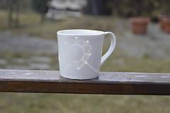 Nádoby - Madeirová porcelánová šálka rovná (Kvietok) - 9367220_