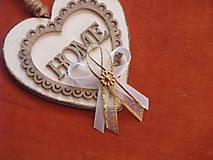 Pierka - Č. 245 Zlato-biele svadobné pierka - 9367371_