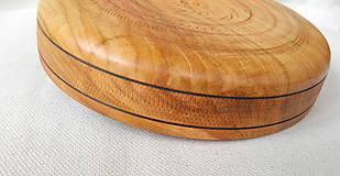 Dekorácie - drevená miska so znamením... - 9371235_