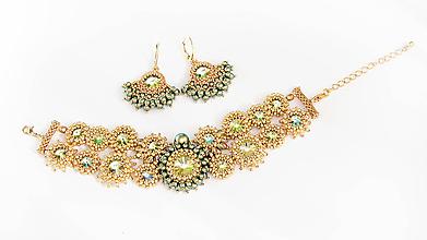Sady šperkov - sada náramok + náušnice V RÍŠI SNOV - 9371119_