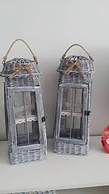 Dekorácie - lampáš - 9370748_
