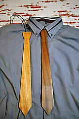Doplnky - Drevená kravata - 9371032_