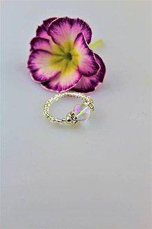 Prstene - aura krištál prsteň - 9370670_