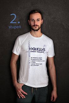Oblečenie - Tričko Herkules fitness challenge pre pokročilých – 2.stupeň - 9371081_