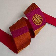 Opasky - Textilný opasok II - 9372033_