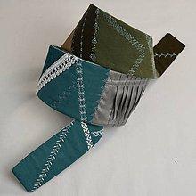 Opasky - Textilný opasok I. - 9372037_