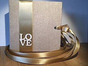 Darčeky pre svadobčanov - Svadobná obálka na peniaze (ihneď k odberu) (12x12 cm - Žltá) - 9372844_