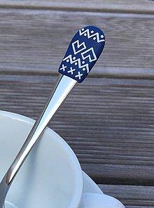 Pomôcky - Čičmany v modro - bielej 3 - 9373781_