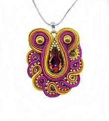 Iné šperky - Farebný prívesok - 9374264_