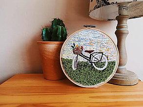 Obrázky - Bicykel pri západe slnka - 9373419_