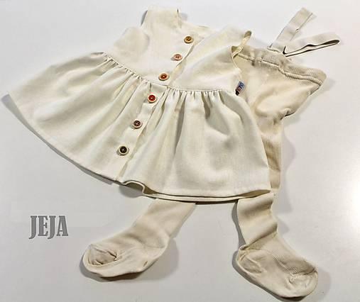 861878217549 Ľanové šaty bez rukávov na zapínanie   babikajeja - SAShE.sk ...