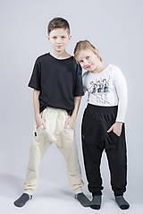Nohavice - Tepláky baggy detské - 9373586_