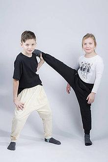 Nohavice - Tepláky baggy detské - 9373585_