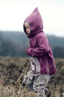 Detské oblečenie - Pro skřítčí holčičky - s laní a jelenem - 9373008_