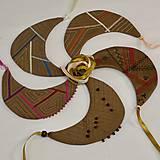 Náhrdelníky - Malý textilný náhrdelník - 9374681_