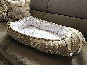 Textil - Hniezdo do postieľky pre bábätko - 9375315_